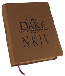 NKJV Dake Annotated Reference Bible Red Lettered Brown Leathersoft