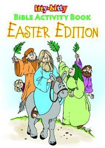 Activity Book Easter Bible Activity Book (Ages 5-10) (Itty Bitty Bible Series)