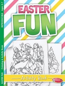 Easter Fun Activity Book Coloring & Activity Book (Ages 5-7, Reproducible) (Warner Press Colouring & Activity Books Series)