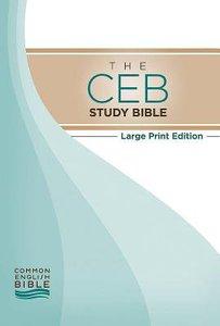 Ceb Large Print Study Bible