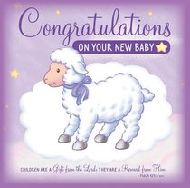 Congratulations on Your New Baby (Greeting Card/cd)