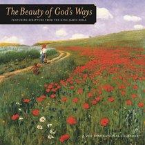 2017 Wall Calendar: The Beauty of Gods Way