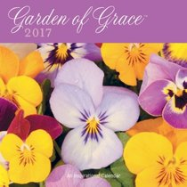 2017 Wall Calendar: Garden of Grace