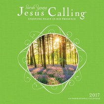 2017 Wall Calendar: Jesus Calling (Sarah Young)