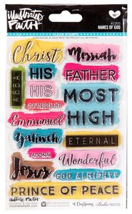 Clear Stamps - Names of God (Illustrated Faith Series)