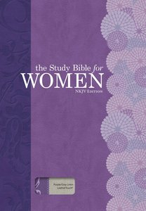 NKJV Study Bible For Women Indexed Purple/Gray Linen
