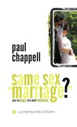 "Same Sex ""Marriage"" (Contemporary Issues Series)"