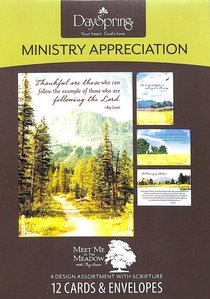 Boxed Cards Ministry Appreciation: Roy Lessin - Meet Me in the Meadow