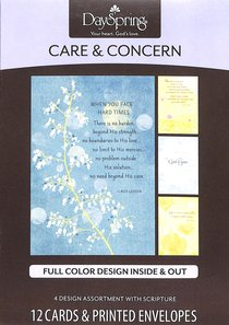 Boxed Cards Care & Concern: Roy Lessin