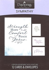 Boxed Cards Sympathy: Simply Stated Sympathy
