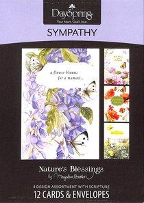 Boxed Cards Sympathy: Sympathy & Prayers By Marjolein Bastin