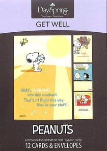 Boxed Cards Get Well: Peanuts