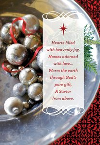 Christmas Boxed Cards: Hearts Filled With Joy (Romans 6:23 Niv)