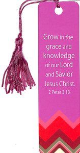 Bookmark: Grow in the Grace and Knowledge (2 Peter 3:18)
