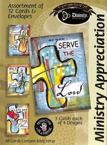 Boxed Cards Ministry Appreciation: Crosses