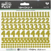Olive You (Olive Numbers) (Illustrated Faith Homespun Number Stickers Series)