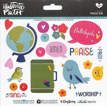 Praise Him (Illustrated Faith Sticker Icon Series)