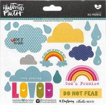 His Promises (Illustrated Faith Sticker Icon Series)