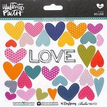 His Love (Illustrated Faith Sticker Icon Series)