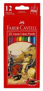 Faber-Castell Classic Colour Pencils Set of 12