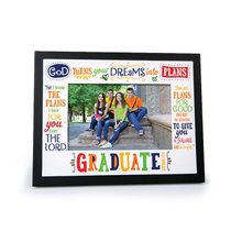 Photo Frame Gods Plans: Graduate (Jeremiah 29:11)