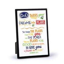 Plaque Gods Plans: Graduate (Jeremiah 29:11)