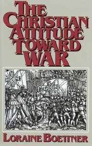 Christian Attitude Toward War