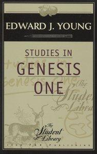 Studies in Genesis One