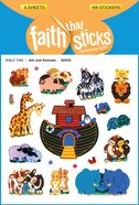 Ark and Animals (6 Sheets, 108 Stickers) (Stickers Faith That Sticks Series)