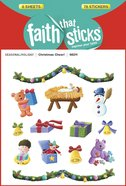 Christmas Cheer! (6 Sheets, 78 Stickers) (Stickers Faith That Sticks Series)