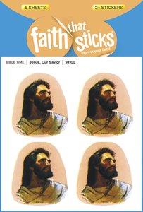 Jesus, Our Savior (6 Sheets, 24 Stickers) (Stickers Faith That Sticks Series)