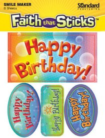 Sfts: Happy Birthday! (6 Sheets, 24 Stickers)