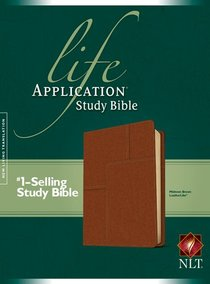 NLT Life Application Study Bible Midtown Brown (Red Letter Edition)