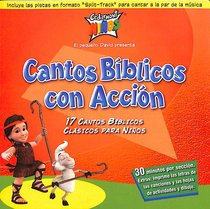 Cedarmont Kids: Cantos Biblicos Con Accion (Action Bible Songs Spanish) (Kids Classics Series)