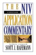2 Corinthians (Niv Application Commentary Series)