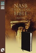 NASB Updated Edition Thinline Large Print Black