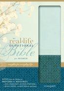 NIV Real-Life Devotional Compact Bible For Women Sea Glass/Caribbean Blue