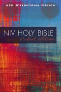 NIV Outreach Bible Student Edition Red Blue Graphic
