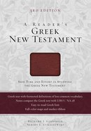 A Readers Greek New Testament (Third Edition)