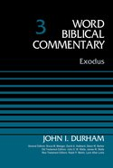 Exodus (Word Biblical Commentary Series)