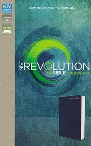 NIV Revolution Bible Blue the Bible For Teen Guys