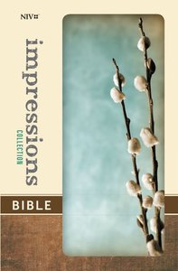 NIV Impresssions Collection Bible Gray Willow (Red Letter Edition) (Limited Edition)
