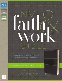 NIV Faith and Work Bible Gray (Black Letter Edition)