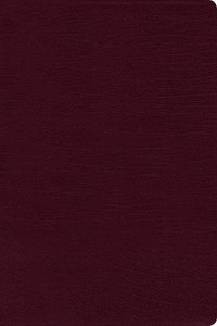 NIV Large Print Reference Bible Burgundy (Red Letter Edition)