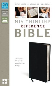 NIV Thinline Reference Bible Navy (Red Letter Edition)