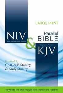 NIV KJV Side-By-Side Bible Large Print