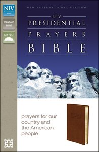 NIV Presidential Prayers Bible (Red Letter Edition)