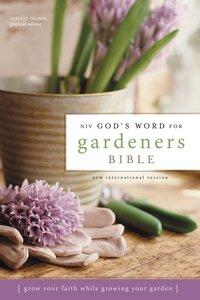 NIV Gods Word For Gardeners Bible