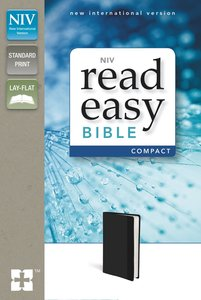 NIV Read Easy Bible Compact Black (Red Letter Edition)