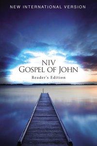 NIV Gospel of John Readers Edition Blue Pier